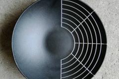 wok in ghisa